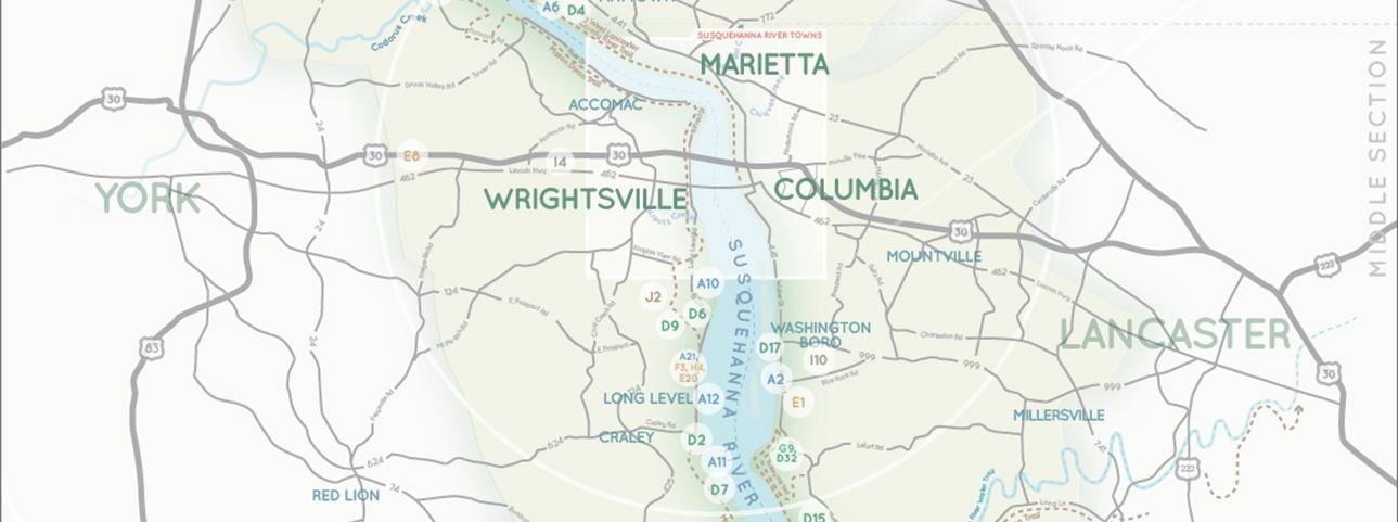 Susquehanna Riverlands Map banner