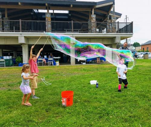 Bubble Fun at RTF